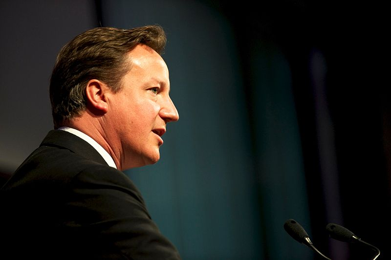 Prime Minister David Cameron, photo courtesy of DFiD