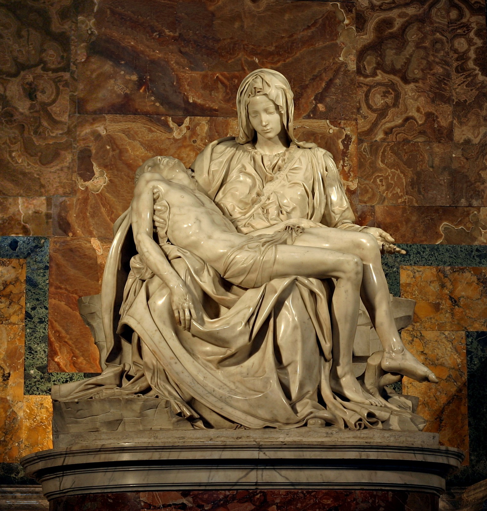 Photo of Michelangelo's Pieta by Stanislav Traykov